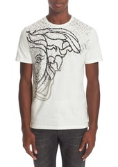 Versace Collection Exploded Medusa Logo T-Shirt