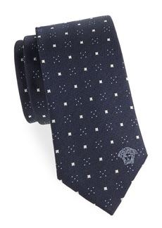 Versace Collection Geometric Silk Tie