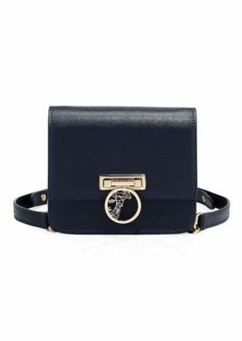 519bc3e92c Versace Versace Collection Grained Leather Crossbody Bag | Handbags