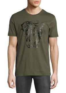 Versace Graphic Crewneck T-Shirt