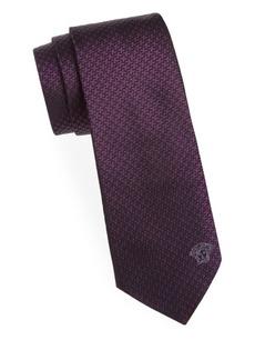 Versace Collection Houndstooth Silk Tie