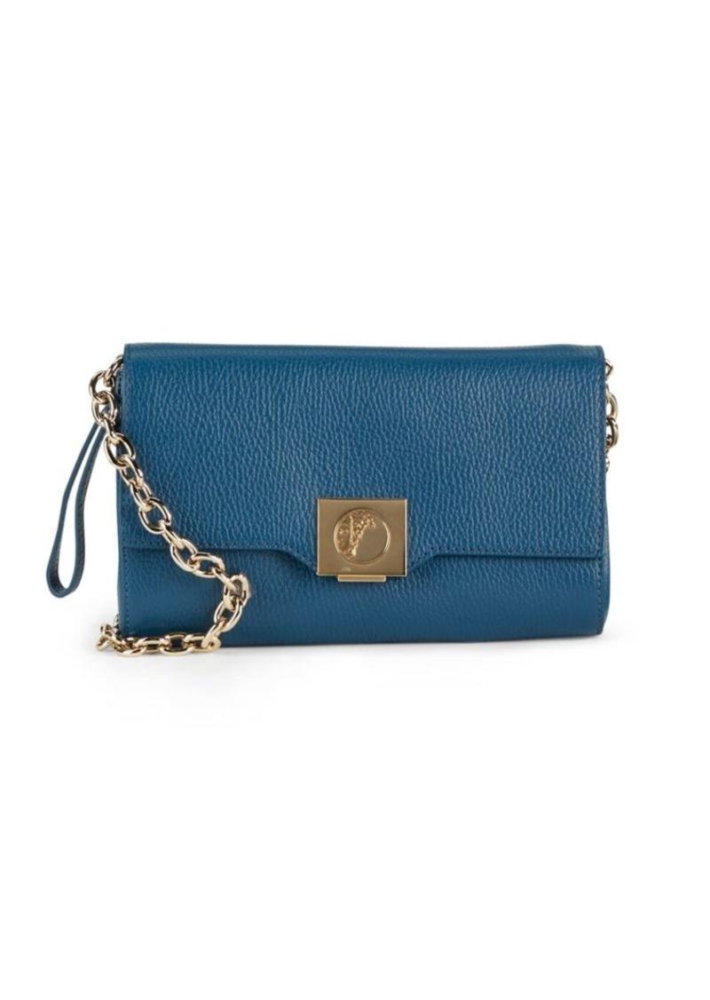 cc8c69c783 Collection Leather & Goldtone Chain Handbag