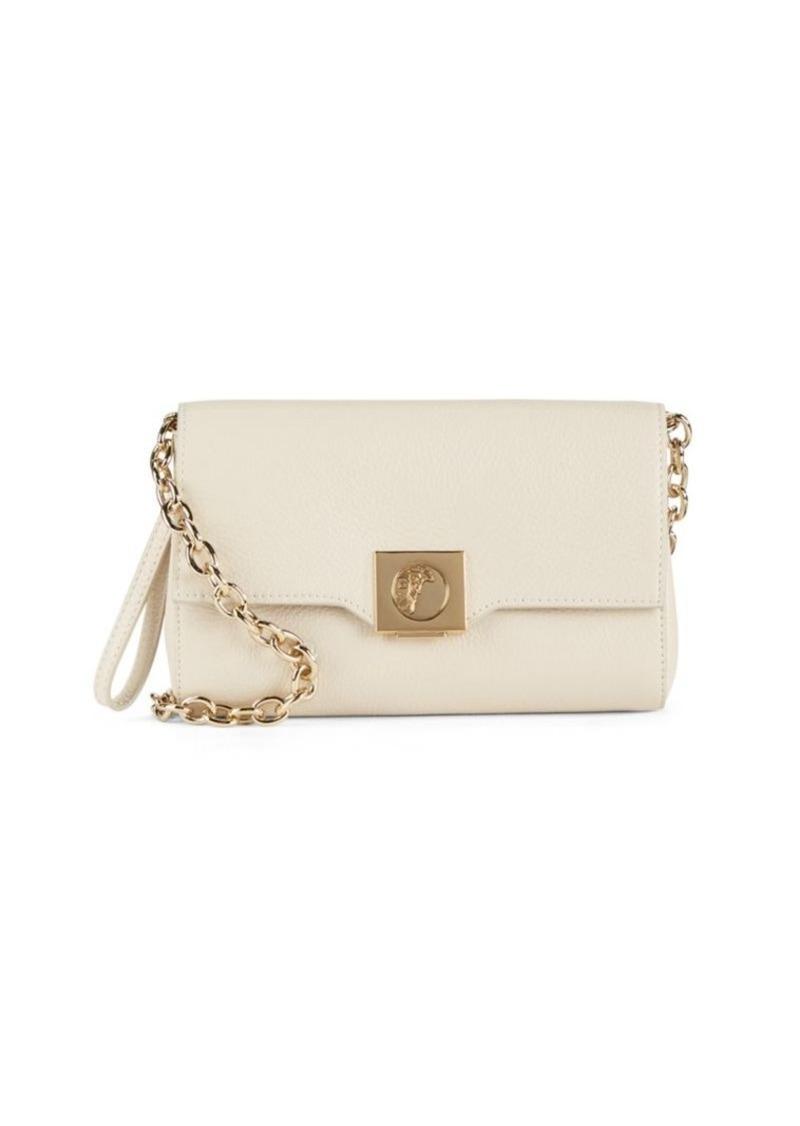 05d65069b125 Versace Versace Collection Leather   Goldtone Chain Handbag