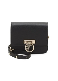 Versace Leather Chain Crossbody Mini Bag