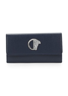 Versace Collection Leather Continental Wallet
