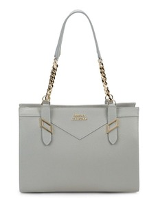 Versace Collection Leather Shoulder Bag