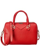 Versace Collection Leather Top Handle Tote