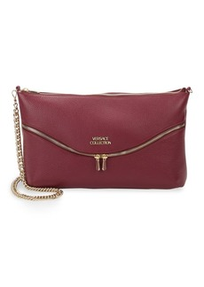 Versace Collection Leather Zip Bag