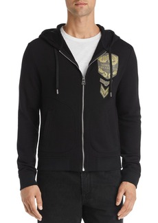 Versace Collection Logo-Appliqu� Hoodie