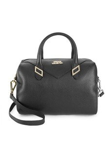 Versace Medium Leather Barrel Bag