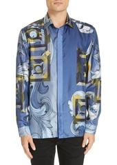 Versace Collection Medusa Silk Shirt