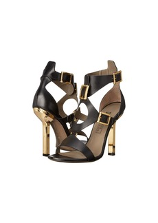 Versace Collection Oro Bizantino Open Toe Heel