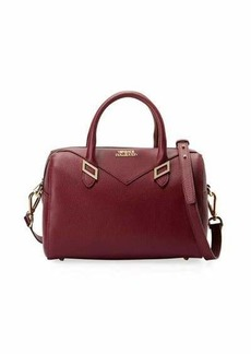 Versace Collection Pebbled Leather Top Handle Bag