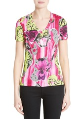 Versace Collection Print Jersey Tee