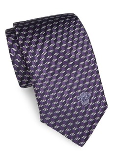 Versace Printed Italian Silk Boxed Tie