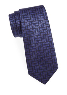 Versace Collection Printed Silk Tie