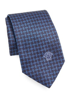 Versace Collection Printed Silk Tie