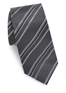 Versace Collection Regimental Silk Tie