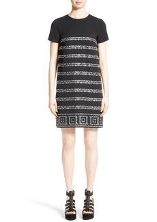 Versace Collection Rhinestone Dress