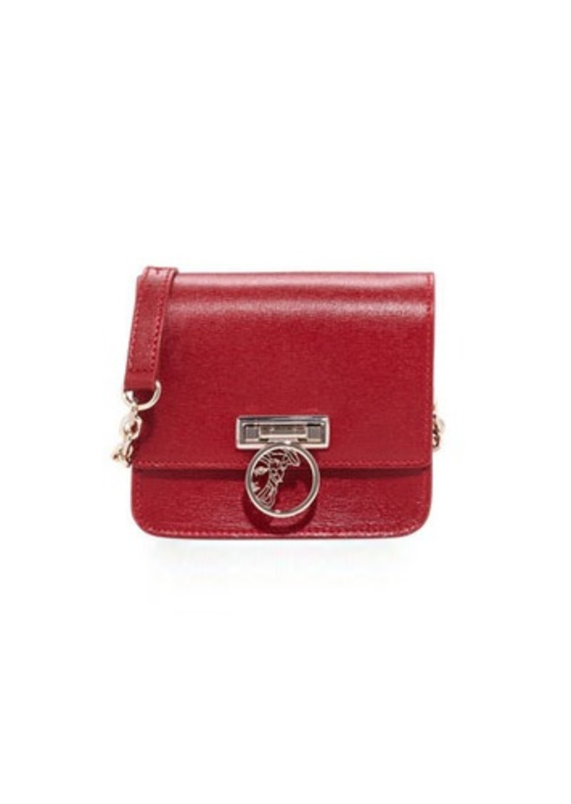 Versace Versace Collection Saffiano Leather Small Crossbody Bag ... 745d0dfccd59f