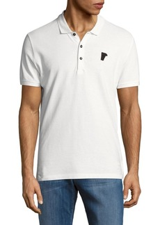 Versace Short Sleeve Cotton Polo