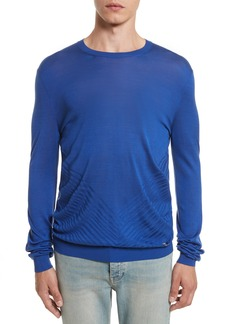 Versace Collection Silk Crewneck Sweater