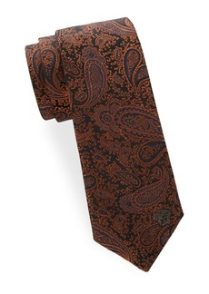 Versace Collection Silk Paisley Tie