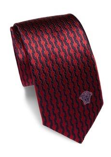 Versace Silk Textured Tie