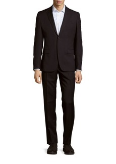 Versace Collection Solid Formal Suit