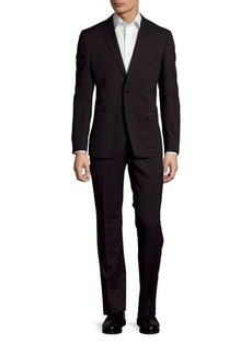 Versace Collection Solid Wool Suit