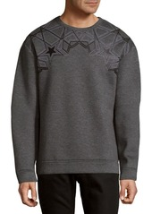 Versace Collection Star Heathered Sweater