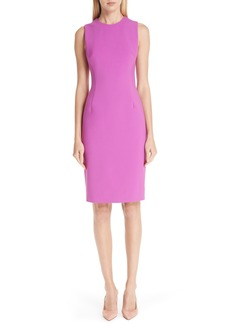 Versace Collection Stretch Cady Pencil Dress