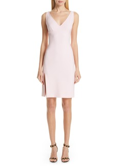Versace Collection Stretch Cady Sheath Dress