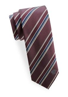 Versace Stripe Silk Tie