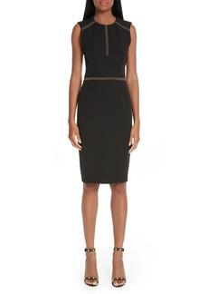 Versace Collection Studded Sheath Dress
