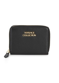 Versace Collection Texture Leather Wallet
