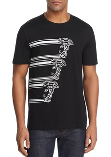 Versace Collection Triple Medusa Graphic Tee