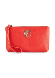 Versace Collection Vibrant Leather Clutch