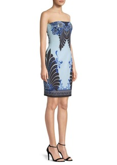 Versace Woven Sheath Dress