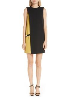 Versace Colorblock Shift Dress