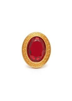 Versace Crystal-embellished ring