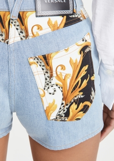 Versace Donna Denim Shorts