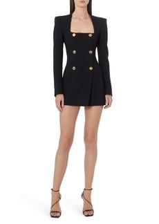 Versace Double Breasted Long Sleeve Blazer Dress
