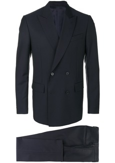 Versace double breasted suit - Blue