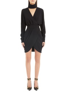 Versace Faux Wrap Dress