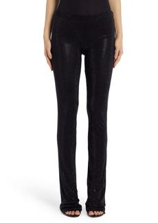 Versace First Line Gianni Studded Silk Pants