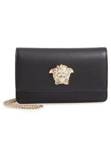 Versace First Line Medusa Head Leather Wallet on a Chain