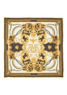 Versace First Line Rodeo Queen Wool & Silk Blend Shawl