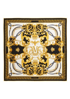 Versace First Line Rodeo Silk Square Scarf