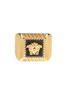 Versace First Line Square Ring